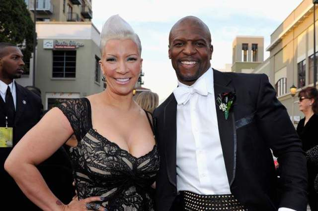 Rebecca and Terry Crews