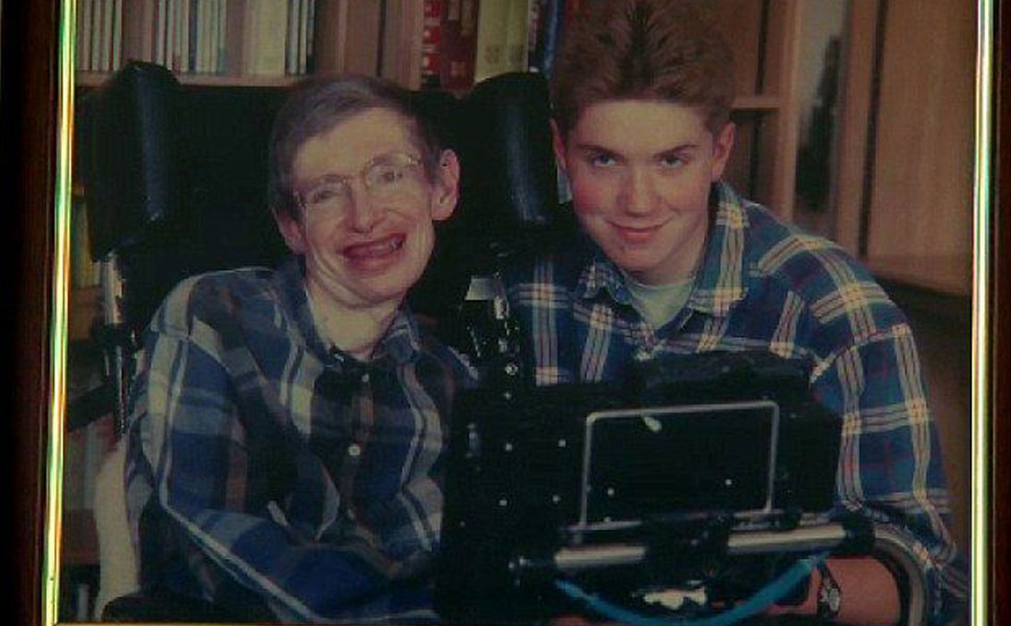 timothy hawking and stephen hawking