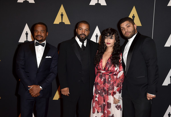 kim and Ice cube with son