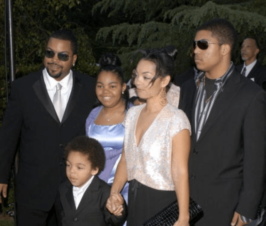 ice cube and kim woodruff family