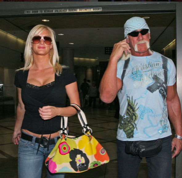 jennifer and hulk hogan shopping