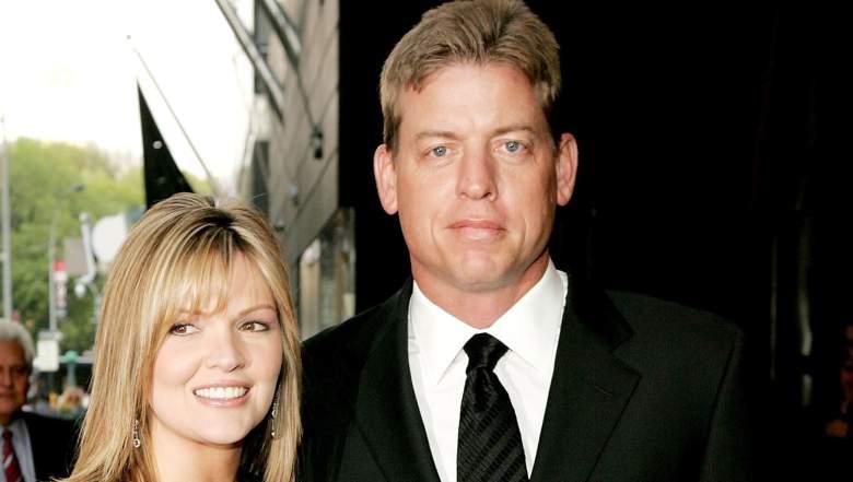 troy aikman with wife rhonda worthey