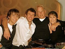 Ty & Mark Harmon family picture