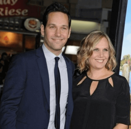 julieyaeger and paul rudd on a date